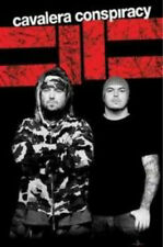 CAVALERA CONSPIRACY POSTER Black & White Photo NEW OFFICIAL MERCH Sepultura