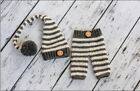 Newborn Baby Girls Boys Crochet Knit Costume Photo Photography Prop Outfit T-1