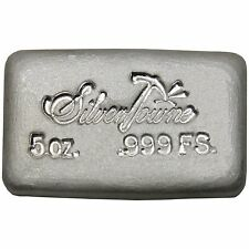 SilverTowne Hand-Poured 5oz .999 Fine Silver Bar