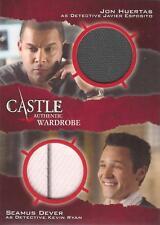 """Castle saisons 3 & 4-DM2 """"det javier esposito/det kevin ryan"""" double armoire carte"""