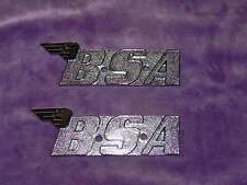 BSA TANK BADGES PAIR 60-2568  A50 A65 A70 OIF 1971 BSA FURY