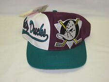 Vintage Anaheim Mighty Ducks Logo Athletic snapback hat cap NHL hockey NWT NOS