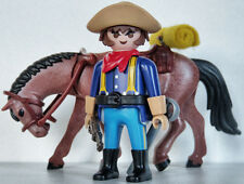 Playmobil western - soldat - tunique bleue - cavalerie - indian wars - custom