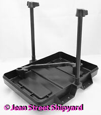 Marine Battery Hold Down Tray Non-Corroding Group 24 Adjustable Attwood 90905