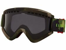 NEW $100 ELECTRIC EYEWEAR RIG.5 SKI/SNOWBOARD GOGGLES  Gloss White/Bronze