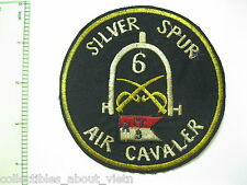 Patch_ Company A 3rd Squadron 17th Cavalry Regiment SILVER SPUR _ 17TH