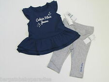 NWT Calvin Klein Jeans 2 Pc Tunic Top & Leggings Baby Infant Girls 18 M $44.50