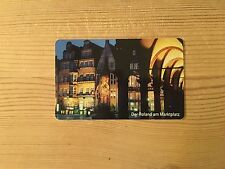 PHONECARD PHONE CARD TELEFONKARTE USED GERMANY ROLAND BREMEN STATUE MARKET PLACE