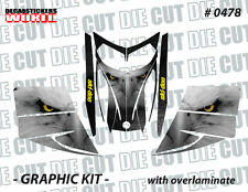 SKI-DOO REV MXZ SNOWMOBILE SLED WRAP GRAPHICS STICKER DECAL KIT 03-07 0478