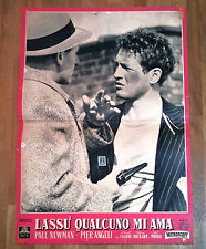 LASSù QUALCUNO MI AMA fotobusta poster Paul Newman Somebody up There Likes me