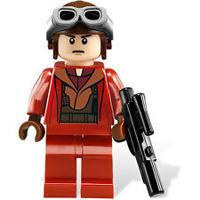 LEGO STAR WARS NABOO FIGHTER PILOT 7877 MINIFIG new