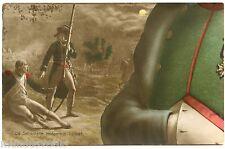 CARTE CONSTITUTIVE D'UN PUZZLE. NAPOLEON . La sentinelle endormie. 1799