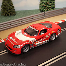 Scalextric 1:32 Car - Red Dodge Viper #92 *LIGHTS* #A