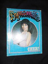 DYNAMITE MAGAZINE CHER 1976