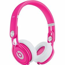 NEW Beats by Dre Mixr Neon On-Ear Headphones - Pink