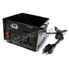 200W Watt Voltage Converter Transformer Step Up & Down AC 110V to 220V
