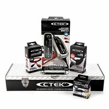 CTEK 12V charger MUS 4.3 Value Bundle w/ extension bumper 8M eyelet & Gift Box
