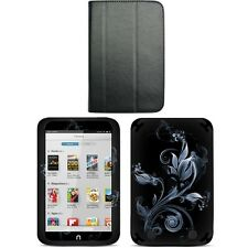 Genuine Leather Case Cover for Barnes Noble Nook HD 7 inch + Skin Accessory B01