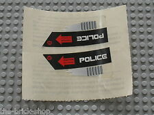 Autocollant LEGO SPACE POLICE stickers for set 5973 Hyperspeed Pursuit