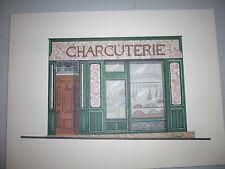 Illustration Charcuterie de l'Eveche à Marseille - Portfolio sur la ville