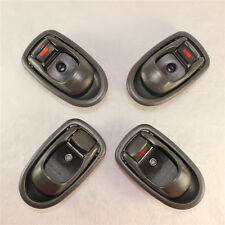 One Set Inside Door Handle Front Rear Left Right For 1996-2000 Hyundai Elantra