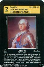 Louis XV ROI FRANCE PLAYING CARD CARTE A JOUER