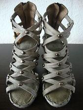 NYLO Italy OYSTER Gladiator Römer Sandalen Schuhe Damen Sandals Leder Gr.36 NEU