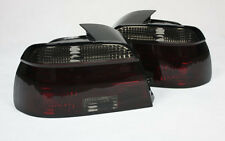 LED LIGHTBAR rear TAIL LIGHTS FOR BMW 5 Series E39 in red SMOKED finish 95-00