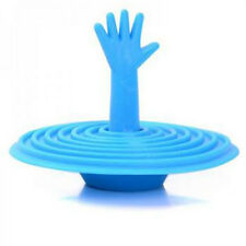 Hot Sale Washroom Hand Shape Help me Sink Plug Water Rubber Bathtub Stopper Bath