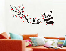 Lovely panda animals Home Room Decor Removable Wall Sticker Decal Decoration