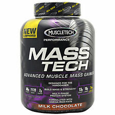 Mass Tech Scientifically Superior Weight Gainer  Chocolate 7 lbs FREE SHIPPING !