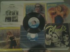blondie vinyl lot of 7 45s 1979 to 1981