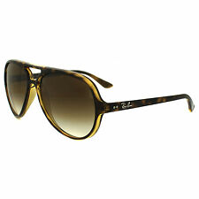Ray-Ban Sunglasses Cats 5000 4125 710/51 Havana Brown