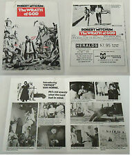 1972 movie industry promo one-fold brochure ~ WRATH OF GOD