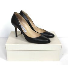 Jimmy Choo Nappa Leather Black Classic heels pumps 37.5