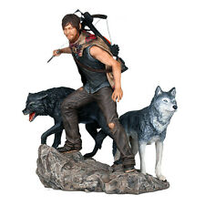 "The Walking Dead ~  DARYL DIXON and the Wolves 11"" Statue ~ Gentle Giant"