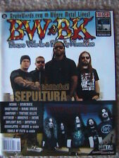 BRAVE WORDS & BLOODY KNUCKLES MAGAZINE # 95  2006 SEPULTURA DARKTHRONE VOIVOD