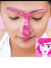 Pro Eyebrow Shaper Stencil Grooming Template Makeup DIY Beauty Tool USA SELLER