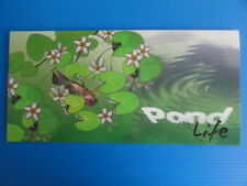 2013 Singapore Presentation Pack - Pond Life Definitives Low Values Flora