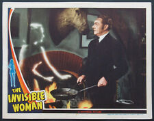 THE INVISIBLE WOMAN JOHN BARRYMORE HORROR 1941 LOBBY CARD NM