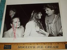 Rare Orig VTG Charlene Tilton Tatum O'Neal Rex Smith Underground Club Photo