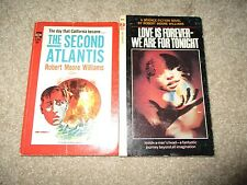 R.M. Williams Lot Of 2PB The Second Atlantis, Love Is Forever-We Are For Tonight