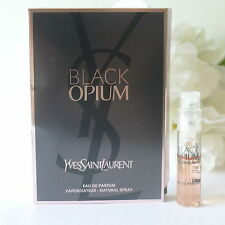 NEW LAUNCH!YSL BLACK OPIUM EDP,SAMPLE VIAL MINI 1,5 ML!SHIP WORLDWIDE