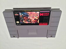 Fighter's History (Super Nintendo SNES) Game Cartridge Exc / Nr Mint!