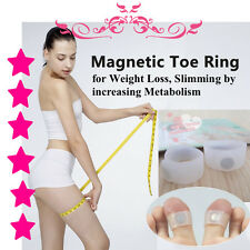 Magnetic Toe Ring for Weight Loss Slimming by increasing Metabolism (1 pair)