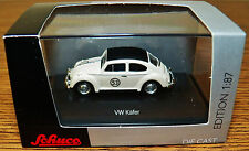 SCHUCO Diecast VW Volkswagen Beetle Rallye #53 Kafer Herbie the love bug 1/87 HO