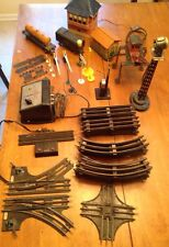 BIG VINTAGE LOT LIONEL TRAINS, BIG TRACK LOT AND ACCESSORIES