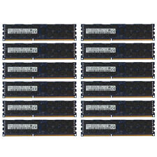 192GB Kit 12x 16GB DELL POWEREDGE R320 R420 R520 R610 R620 R710 R820 Memory Ram