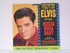 "ELVIS PRESLEY ""BOSSA NOVA BABY / WITCHCRAFT"" 45w/PS MINT"