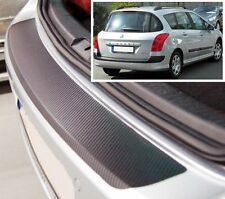 Peugeot 308 SW MK1- Carbon Style rear Bumper Protector